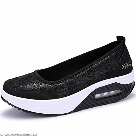 Amazon.com: XUEXUE Womens Shoes Leather Spring Fall Loafers & Slip-Ons Driving Shoes Fitness Shake Shoes Shake Shoes Shaking Shoes Flat Loafers Sneakers ...