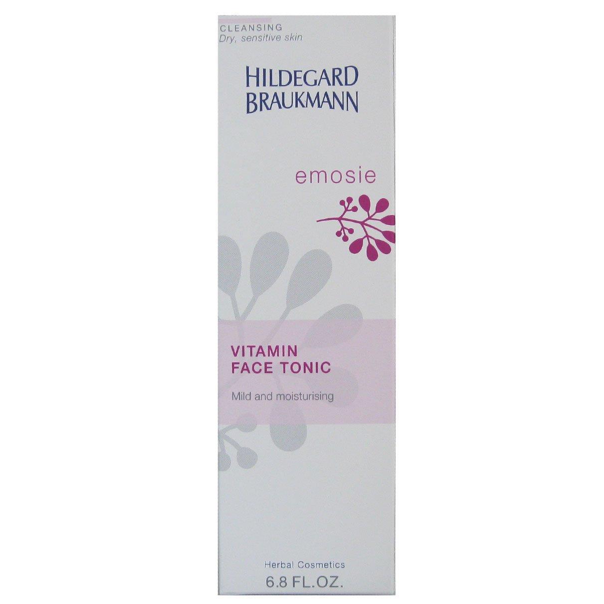 Hildegard Braukmann Emosie Women, Vitamin Face Tonic, 1er Pack (1 x 200 ml) 4016083051248