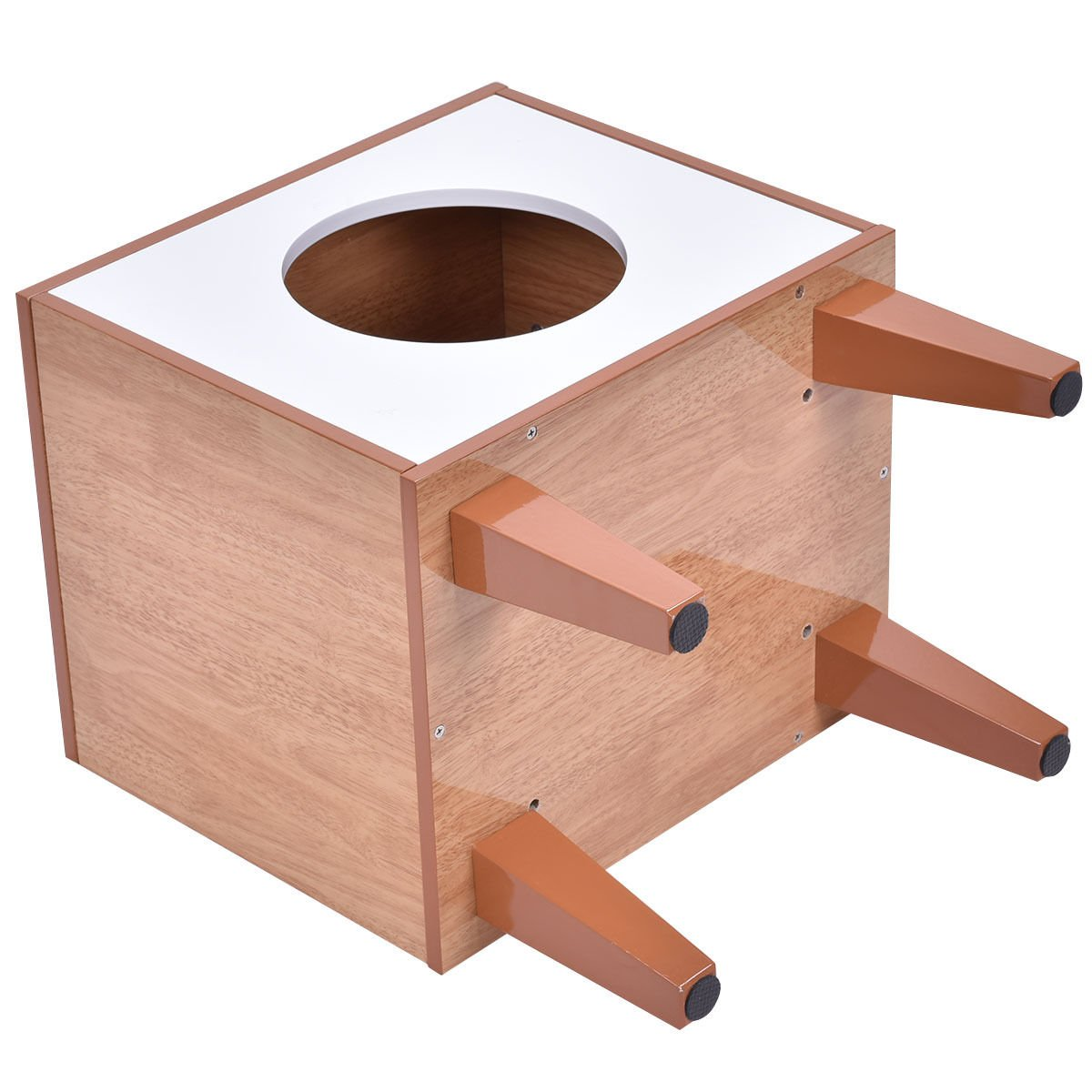 New Cat Box Cushion Bed Cleaning Enclosure Hidden Pet Cabinet Furniture Wood by totoshoppet (Image #5)