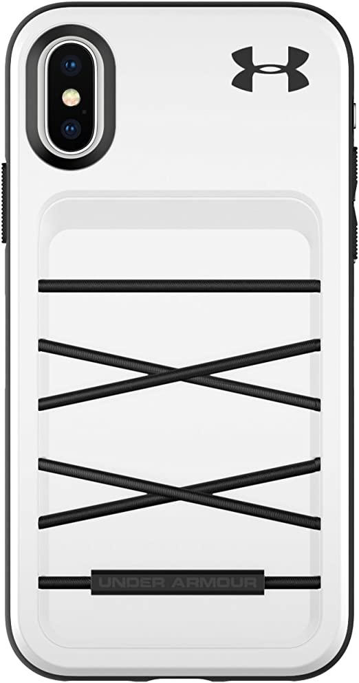 Recuento Pornografía profesional  Under Armour Phone Case | for Apple iPhone Xs and iPhone X | Under Armour  UA Protect Arsenal Case with Rugged Design and Drop Protection -  White/Black (UAIPH-014-WBLK) - Amazon.com