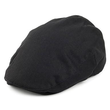 a46652ffd4a Brixton Hats Hooligan Flat Cap - Black Herringbone  Amazon.co.uk ...