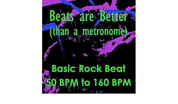 Basic Rock Beat 50 BPM by Beats are Better (than a metronome