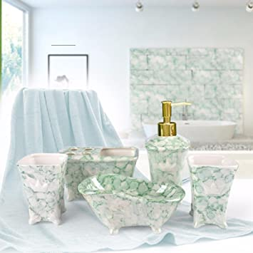 Khskx Sanitarkeramik Marmor Badezimmer Set Bad Hotel Europaischen