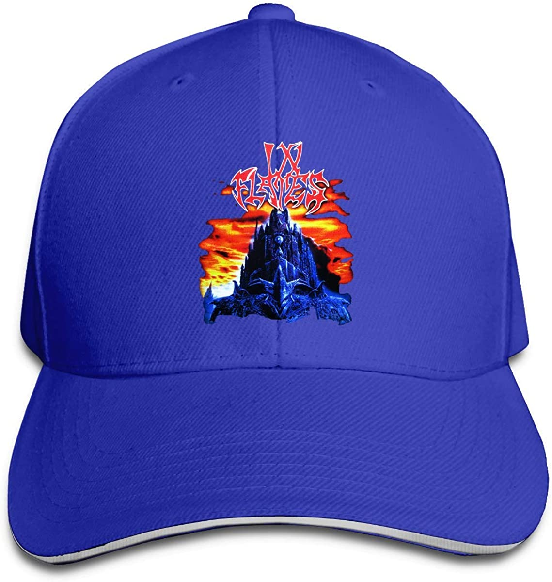 shenguang Albert V Adult in Flames-The Jester Race Sandwich Gorras de béisbol Gorra Ajustable de Camionero Snapback Negro