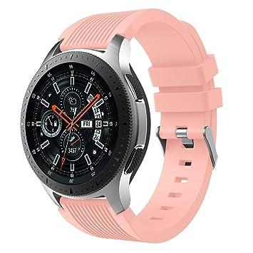 XIHAMA Armband für Samsung Galaxy Watch (42 mm 46 mm) aus Silikon ...