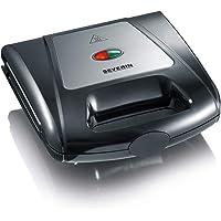 Severin SA 2968 Multi Sandwich Toaster, 1000W, Black-Chrome
