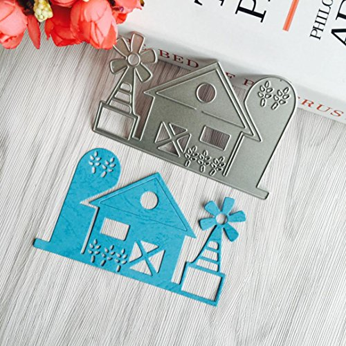 2019 Newest Blossom Metal Die Cutting Dies Handmade Stencils Template Embossing for Card Scrapbooking Craft Paper Decor by E-Scenery (H)]()