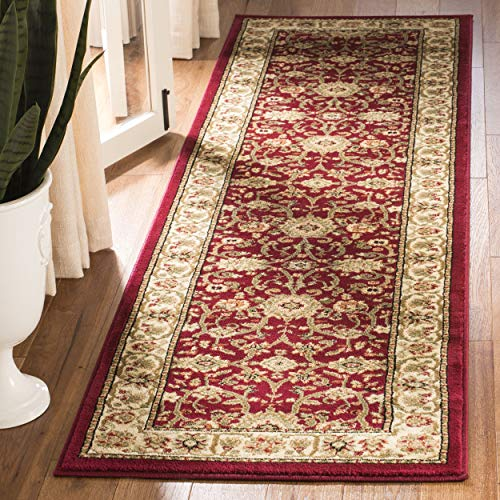 Safavieh Lyndhurst Collection LNH212F Traditional Oriental Red and Ivory Runner (2'3