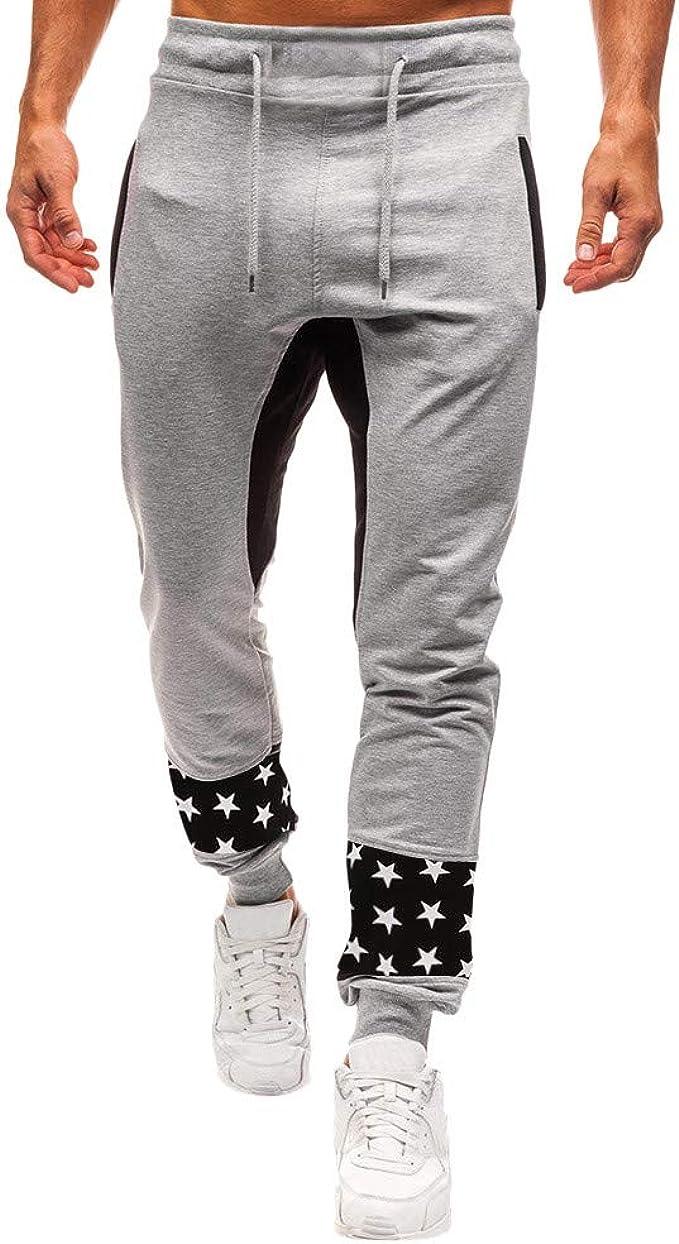 Pantalones Chandal para Hombre, Hombres otoño Moda Casual ...