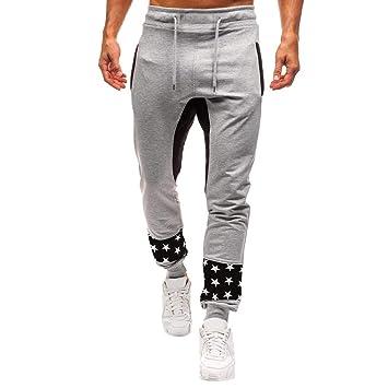 LuckyGirls Pantalones de Chándal de Hombres Estampado de ...