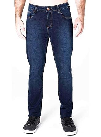141d796a1 Calça jeans reta azul escuro: Amazon.com.br: Amazon Moda
