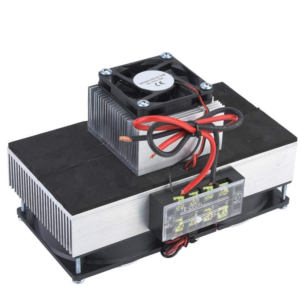Módulo de refrigeración de semiconductores, 2V 100W Refrigeración de semiconductores Dispositivo de enfriamiento de espacio para mascotas DIY, Refrigerador de automóvil
