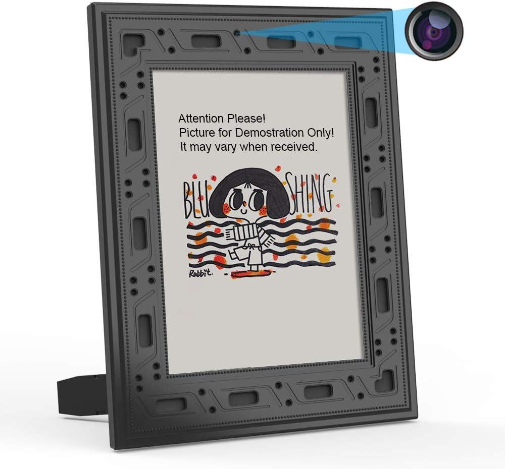 Amazon.com: Cámara de seguridad oculta WiFi marco de fotos ...