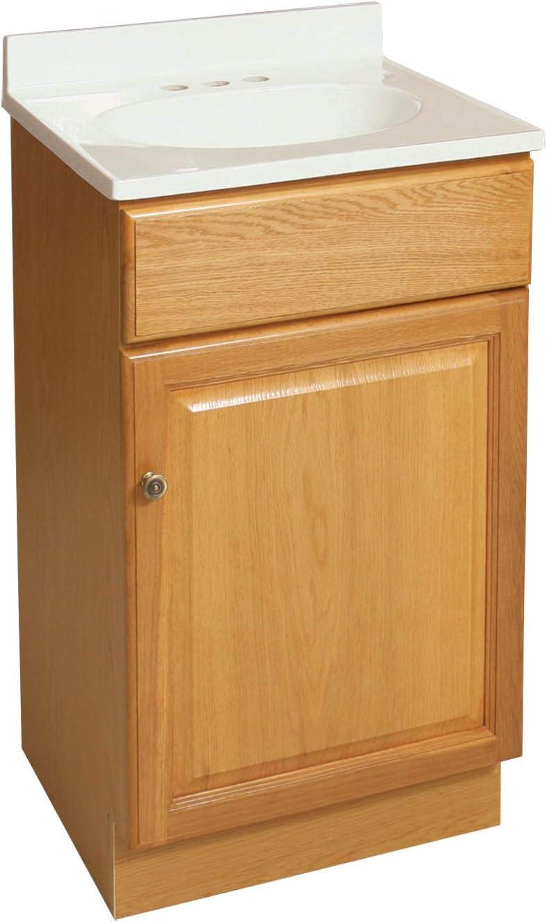 Design House 531970 RTA Vanity Cabinets, 24 x 18 x 30 , Oak