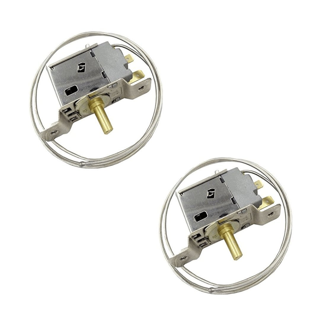 XMHF WPF-22 Universal Fridge Freezer Refrigerator Thermostat 2Pcs
