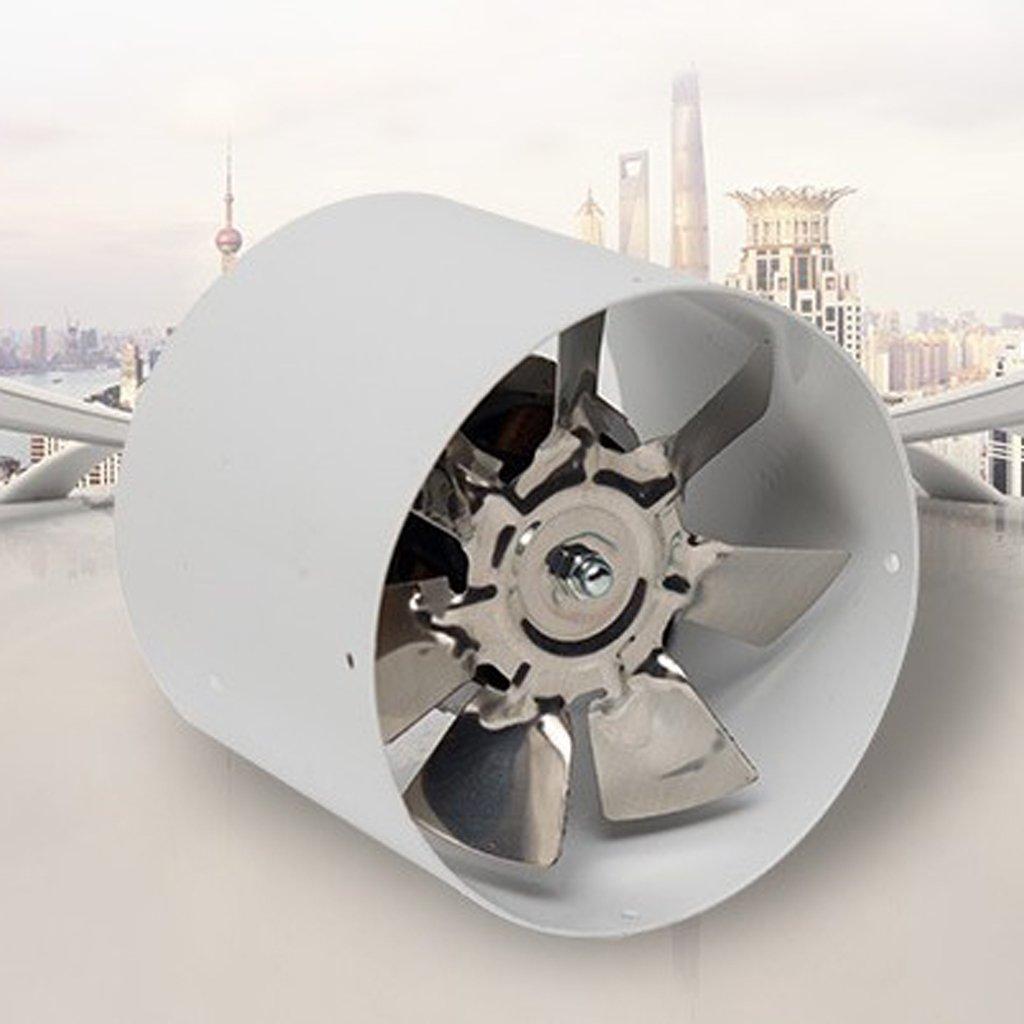 B Blesiya Potente 4 Pulgadas Silencioso Ducting Fan Inline Duct Fan Extractor De Aire Refrigeraci/ón Ba/ño Ventilaci/ón Ventilador De Metal 220V