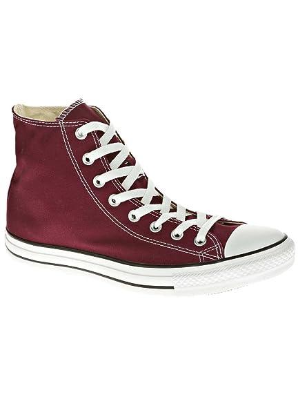 8b40271ec40 Converse Unisex Adults  Chuck Taylor All Star Season Hi Gymnastics Shoes  red Size  11 UK  Amazon.co.uk  Shoes   Bags