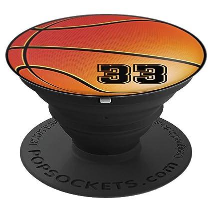 Amazon.com: Camiseta de baloncesto número 33 nº 33 – regalos ...
