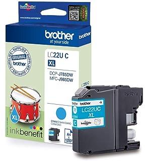Brother LC22UM - Cartucho de tinta magenta, duración hasta ...