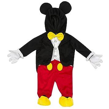 Disney Mickey Mouse Ratón Peluche niños Carnaval Halloween Disfraz