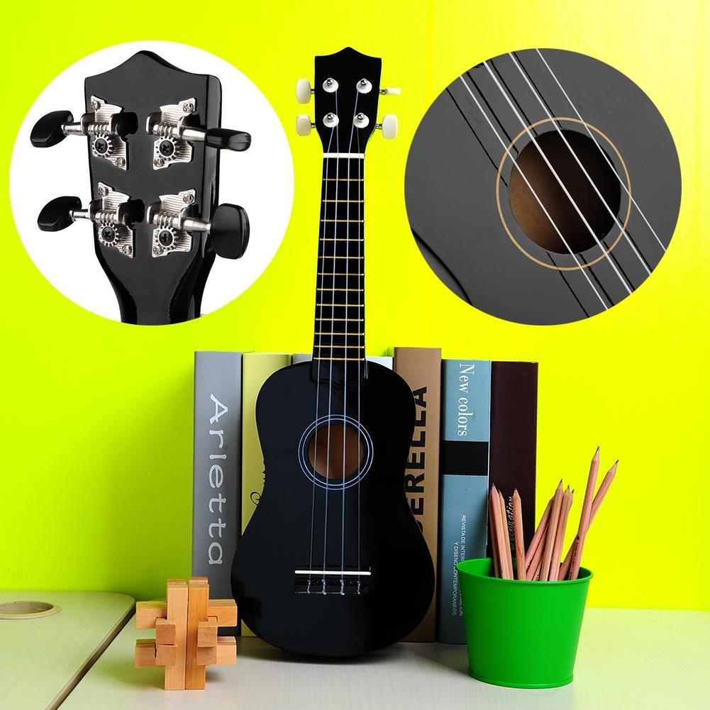 Forfar Wood Musical 21 Acoustic Soprano Ukulele With Case Vintage Retro Instrument FF-34291