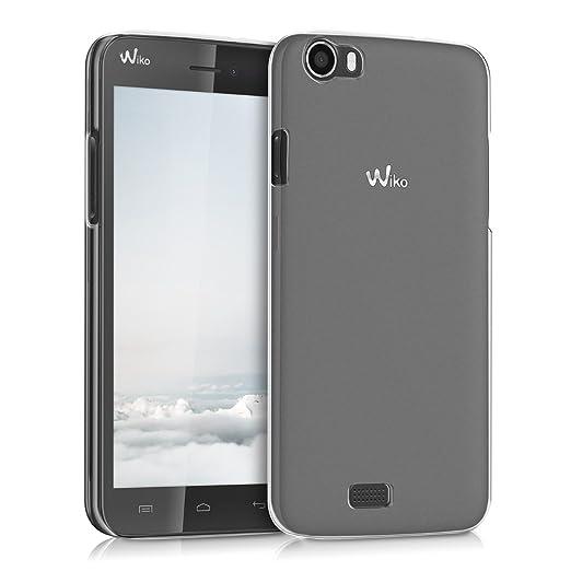 32 opinioni per kwmobile Cover per Wiko Lenny- Custodia trasparente per cellulare- Back cover