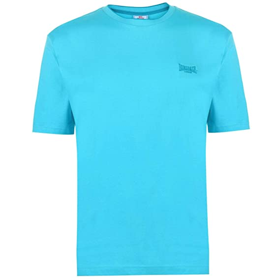Lonsdale - Camiseta de Manga Corta para Hombre, Cuello Redondo ...