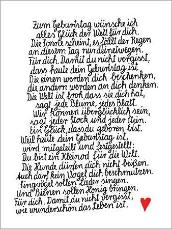 Posterlounge Holzbild 30 X 40 Cm Weil Heute Dein Geburtstag Ist Von