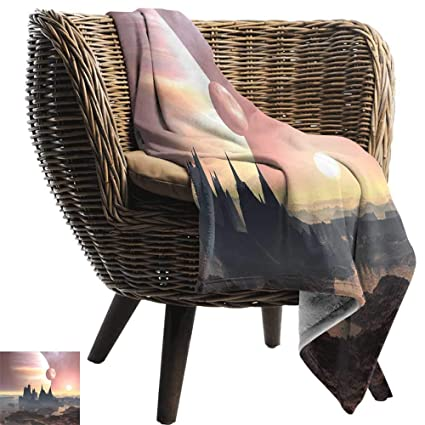Fantastic Amazon Com Soft Cozy Throw Blanket Fantasy Twin Moons Over Gmtry Best Dining Table And Chair Ideas Images Gmtryco