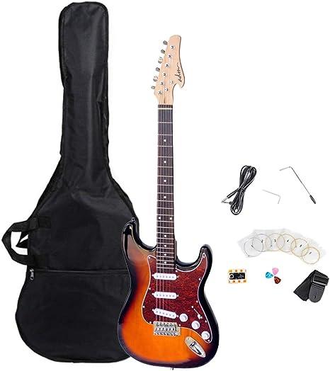 ADM tamaño completo estándar Strat paquete de guitarra eléctrica ...