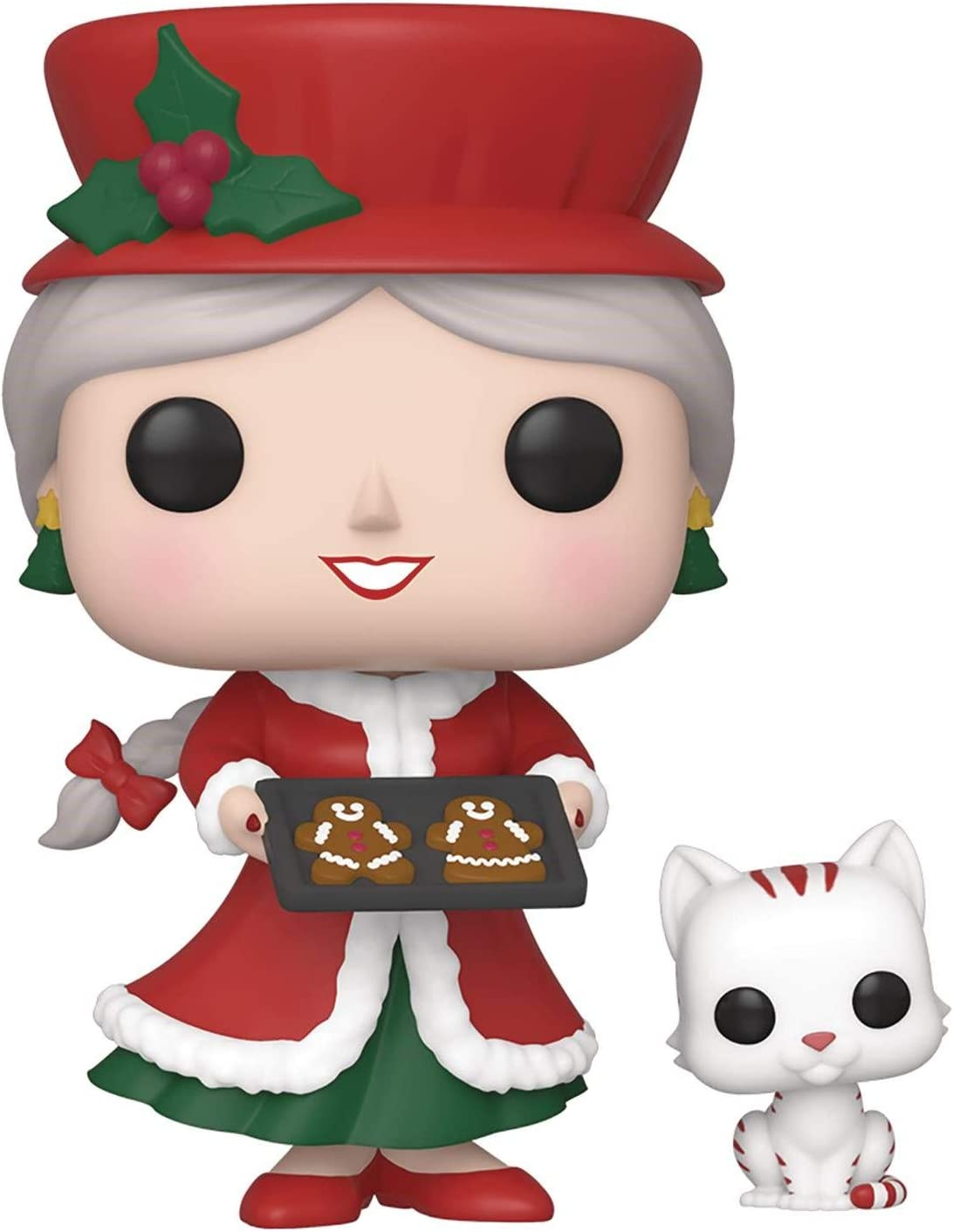 Vinyl Figure Pop Holidays: Peppermint Lane Claus /& Candy Cane Pop Includes Compatible Pop Box Protector Case Mrs