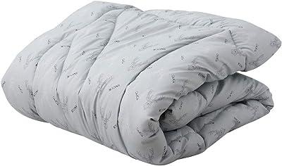 EMOOR Washable Heat-Generation Warm Comforter Luxe Japanese Twin Size Kakebuton 59x83in, Winter Futon Bed Duvet Quilt