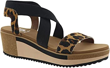 Yellow Box Womens Janalee Wedge Sandal