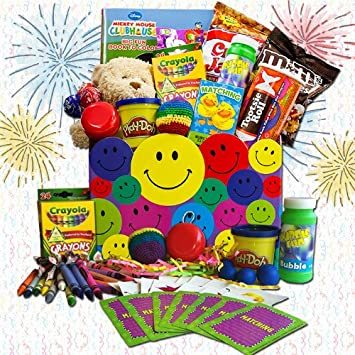 Amazon Com Organic Stores Gift Baskets Kids Crafts And Snacks