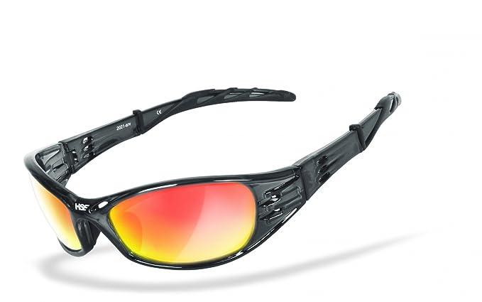 HSE sporteyes Sport Occhiali Sport Occhiali da sole occhiali da ciclismo Street King 2Laser Red ScxIWE9