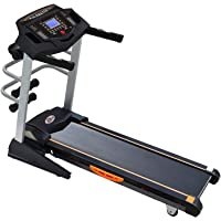 Durafit Strong Surge Multifunction 2.0 Peak 4.0 HP Motorized Auto-Incline Treadmill with Massager
