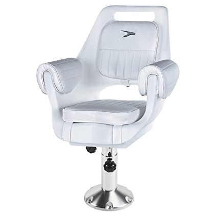 Renewed Wise Seats Pilot Chair Package With Arm Rests No Slide W//15 Ped/&Cushin