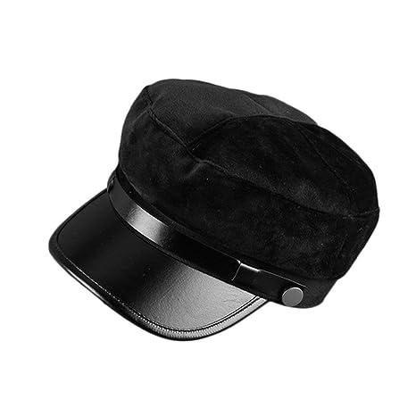 Detectoy Moda Todo-Partido Otoã±o Invierno Cã¡Lido Unisex Color Sã³Lido  Sombrero d4322c28ea0