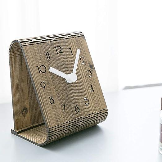 DEE Reloj, sala de estar Reloj de escritorio minimalista moderno ...