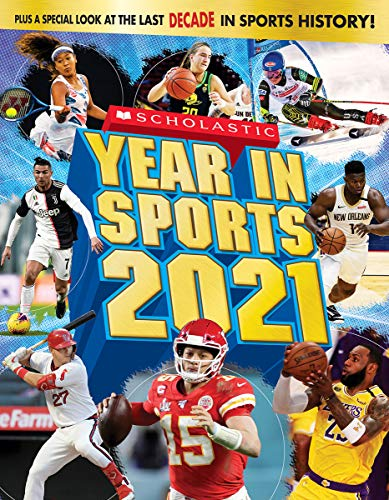 Book Cover: Scholastic Year in Sports 2021