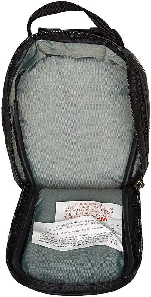 Lifetime M1R Micro Tank Bag 1L OL295 Oxford Motorcycle Luggage Black