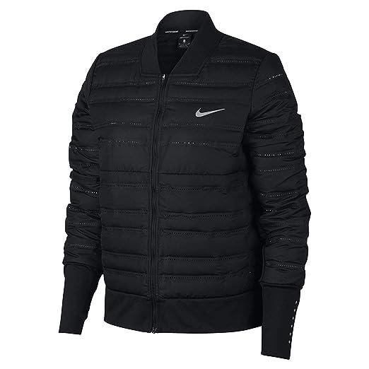 9451695cffa4 Nike AeroLoft Women s Running Jacket at Amazon Women s Clothing store