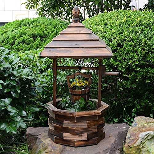 Creative flower racks water wells flower box multi - meat potted flowers fashion home decoration wooden flower racks by Flower racks - xin