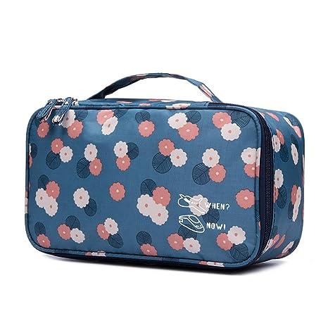 Mefly Bolsas de viaje BRA ropa interior bolsos bolsos maletas Oxford impermeable de tela A monocapa