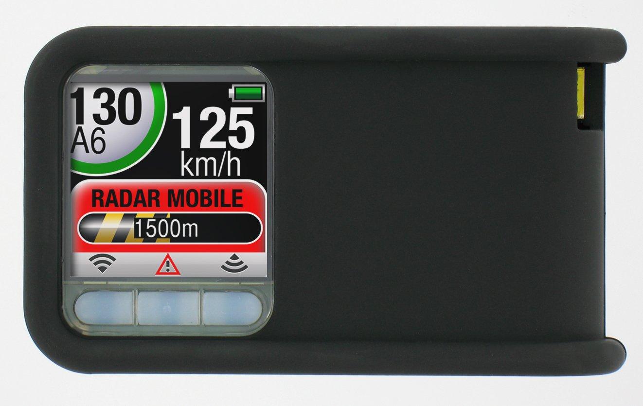 Coyote Mini Coyote - Avisador de radares fijos y móviles a tiempo real, color negro [importado de Francia]: Amazon.es: Electrónica