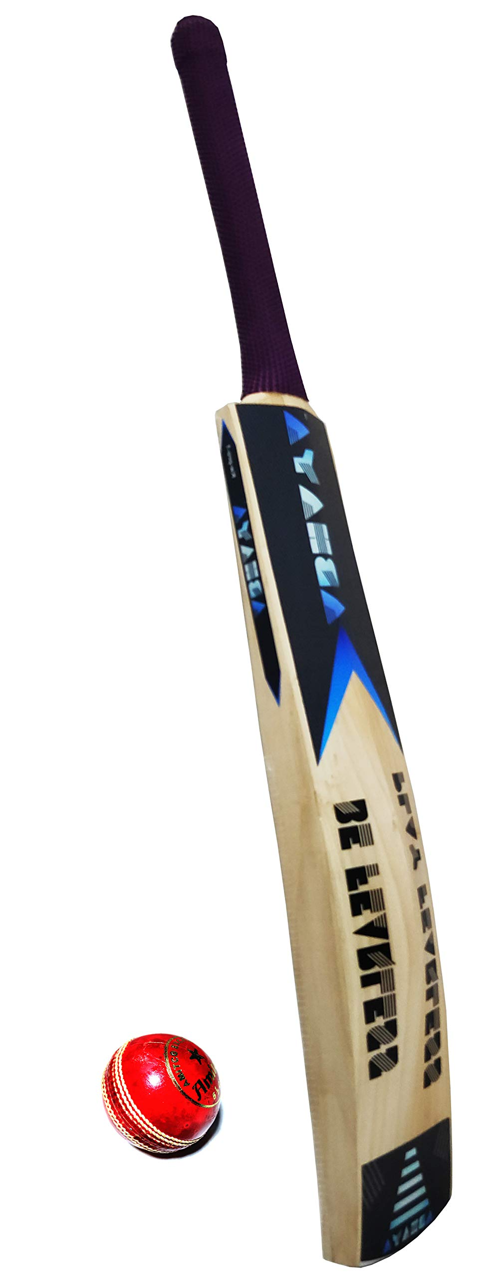 Amazon price history for ABHAYA Leather Bat Kashmir Willow with Leather Ball for Professional Players + Leather Bat for Cricket for Men & Boys 40mm Edge, Short Handle