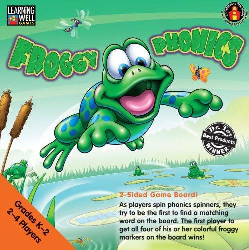 Froggy Phonics Game - Froggy Phonics Game Level 1