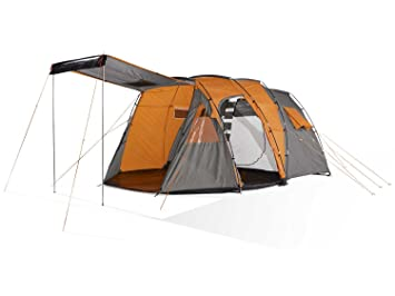 C&ing Tent 4u2013Person Family Tunnel-C&ing-Tent 3000 MM hydrostatic head /  sc 1 st  Amazon UK & Camping Tent 4-Person Family Tunnel-Camping-Tent 3000 MM ...
