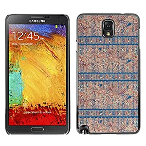 MOBMART Carcasa Funda Case Cover Armor Shell PARA Samsung Note 3 N9000 - The Blue Pattern Of Knowledge