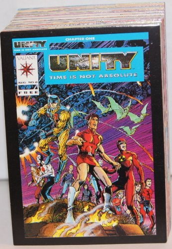 Unity: Time Is Not Absolute (Comic Images/1992) Complete Base Card Set Valiant ()